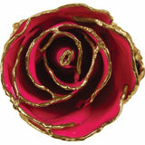 Magenta Hot Pink 24K Gold REAL Rose Valentine's Day Gift Keepsake NEW USA Made