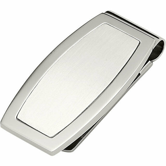 ENGRAVABLE Stainless Steel Money Clip