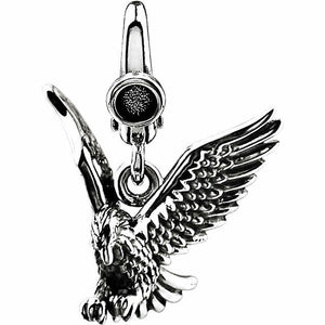 American Eagle Charm Sterling Silver New in Box Solid Made in USA