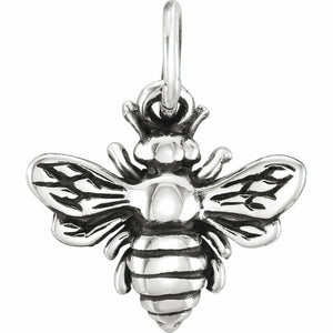 Sterling Silver Honey Bee Charm New in Box Solid Made in USA
