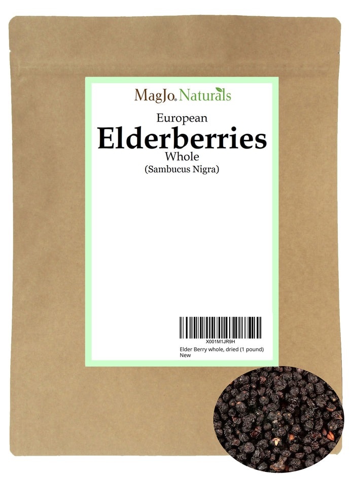 Dried Elderberry Tea from Montenegro