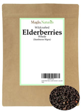 Load image into Gallery viewer, Dried Wildcrafted Elderberry Tea from Croatia