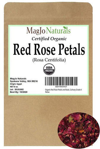 Red Rose Petal Tea