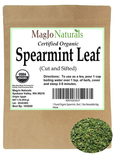 Organic Spearmint Tea Leaves from Egypt