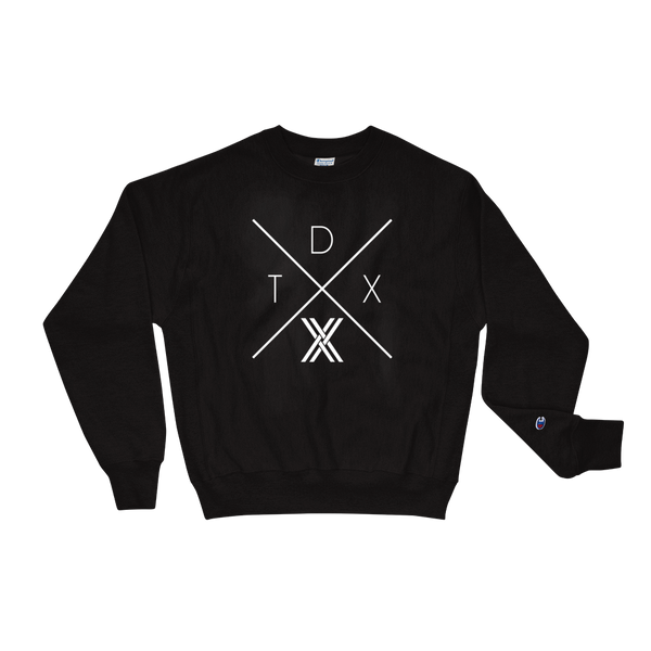 TDX 𝕏 Champion Sweatshirt