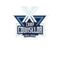 TDX Camp Counselor Sticker