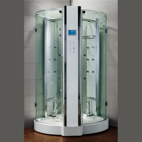 "Athena WS-131 Steam Shower (53""L X 53""W X 90""H)-Bath Parlor"