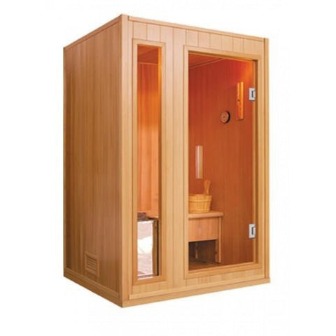 Image of SunRay 2 Person Baldwin Traditional Steam Sauna (HL200SN) - Bath Parlor