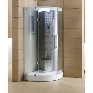 Mesa WS-302 Walk-In Steam Shower with Clear Tempered Glass - Bath Parlor