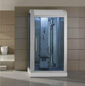 "Mesa WS-500 Walk-In Steam Shower with Frosted Glass (47""L X 35""W X 85""H)-Bath Parlor"