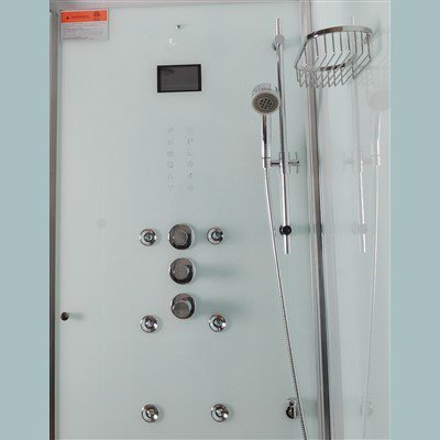 "Image of Athena WS-112 Steam Shower (59""L x 36""W x 89""H"")-Bath Parlor"