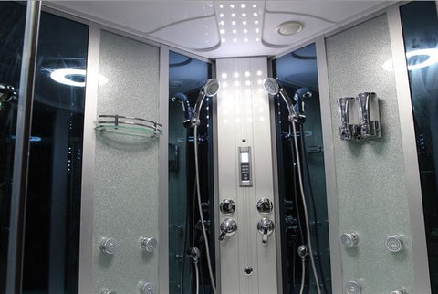 "Image of Mesa WS-701 Steam Shower with Jetted Tub (66""L x 66""W x 87""H)-Bath Parlor"