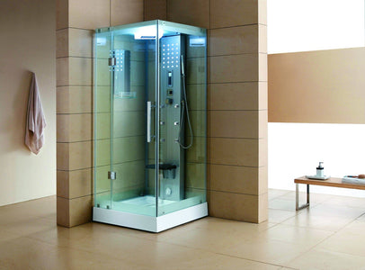 "Mesa WS-303 Clear Steam Shower (32""L x 32""W x 85""H)-Bath Parlor"