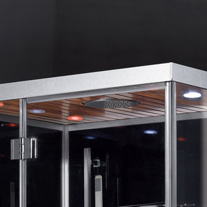 "Ariel Platinum DZ959F8 Steam Shower (47""W x 36""D x 89""H)-Bath Parlor"