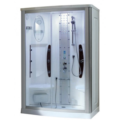 "Mesa Two Person Steam Shower (WS-803A) (54""L x 35""W x 85""H)-Bath Parlor"