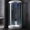 "Mesa WS-9090C Steam Shower (36""L x 36""W x 87""H)-Bath Parlor"