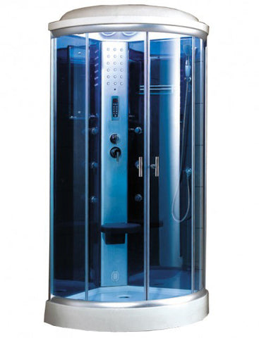 "Mesa 9090K Steam Shower (36""L x 36""W x 87""H)-Bath Parlor"