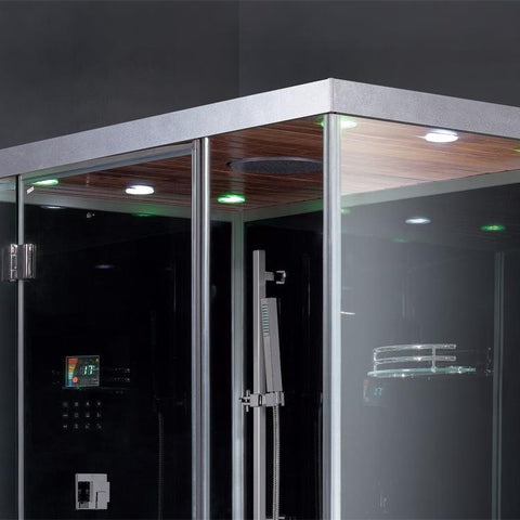 "Image of Ariel Platinum DZ961F8 Steam Shower (59""W x 35""D x 87""H)-Bath Parlor"