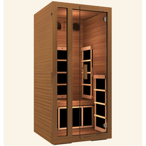 JNH Lifestyles Freedom 1 Person Infrared Sauna - Bath Parlor