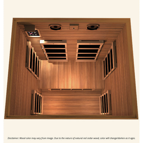 Image of JNH Lifestyles Freedom 1 Person Infrared Sauna - Bath Parlor