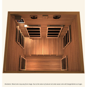 JNH Lifestyles Freedom 2 Person Infrared Sauna - Bath Parlor