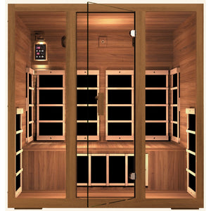 JNH Lifestyles Freedom 4 Person Infrared Sauna - Bath Parlor