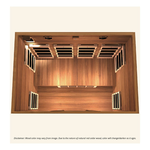 Image of JNH Lifestyles Freedom 4 Person Infrared Sauna - Bath Parlor