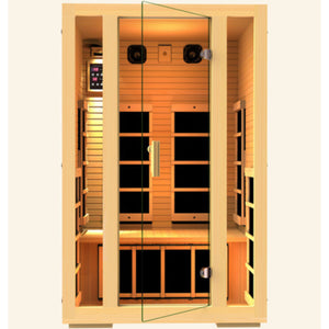 JNH Lifestyles Joyous 2 Person Infrared Sauna (2019 Model) - Bath Parlor