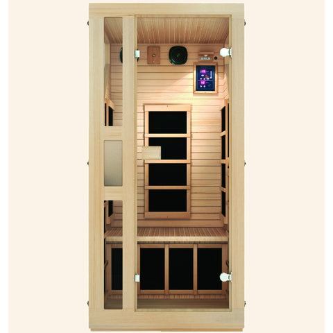 JNH Lifestyles Ensi™ 1 Person Far Infrared Sauna - Bath Parlor