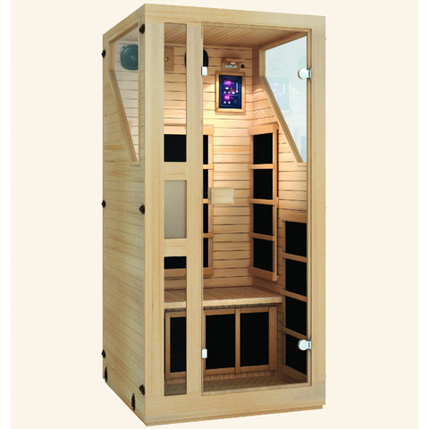 Image of JNH Lifestyles Ensi™ 1 Person Far Infrared Sauna - Bath Parlor