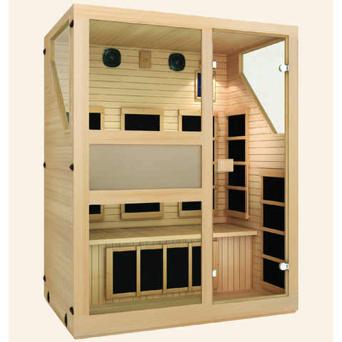 JNH Lifestyles Ensi™ 3 Person Far Infrared Sauna - Bath Parlor