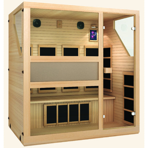 JNH Lifestyles Ensi™ 4 Person Far Infrared Sauna (2019 Model) - Bath Parlor