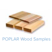 For Saunacore Saunas - Poplar Wood