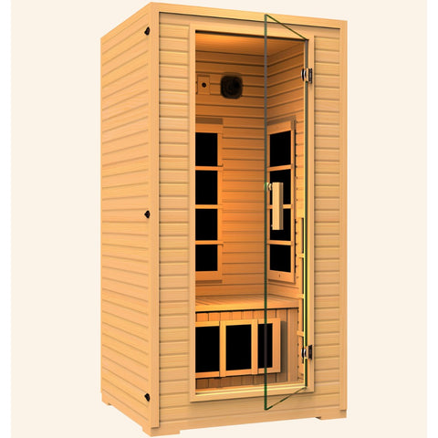 Image of JNH Lifestyles Vivo 1-2 Person Far Infrared Sauna - Bath Parlor