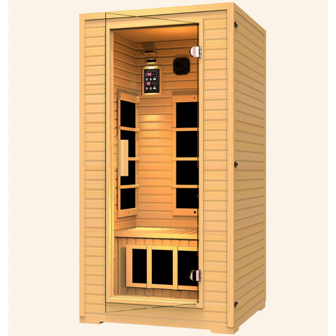 JNH Lifestyles Vivo 1-2 Person Far Infrared Sauna - Bath Parlor