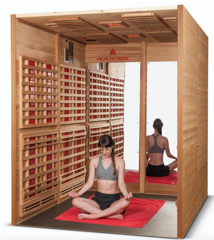 Image of Health Mate Sports 6 Person Infrared Sauna