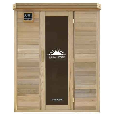 Saunacore Horizon Purity 2 Person Infrared Sauna (HR4X4)