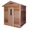Saunacore Outdoor Classic 6 Person Traditional Sauna (COD5X7)