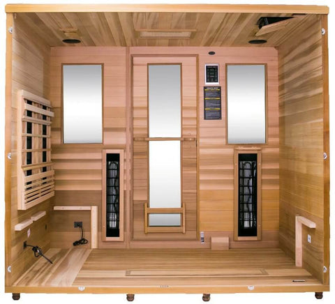 Image of Health Mate Therapy Lounge 4 Person Infrared Sauna