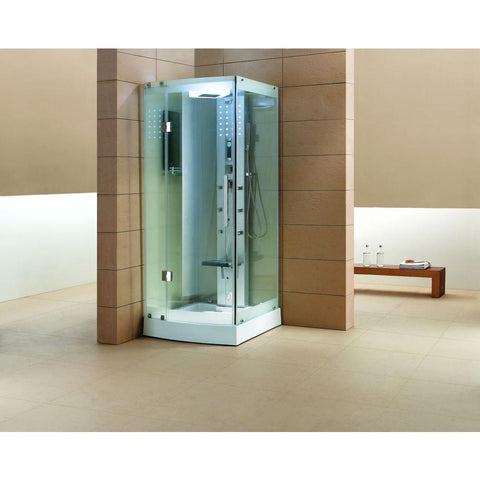 "Image of Mesa WS-301A Clear Steam Shower (85""H x 36""W x 36""L)-Bath Parlor"