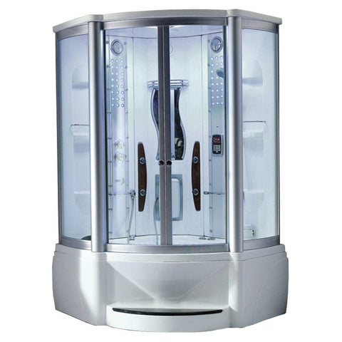 Mesa WS-600A Steam Shower with Jetted Tub - Bath Parlor