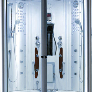 Mesa WS-608A Steam Shower with Jetted Tub - Bath Parlor