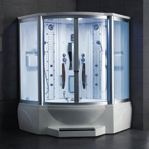 Image of Mesa WS-608A Steam Shower with Jetted Tub - Bath Parlor