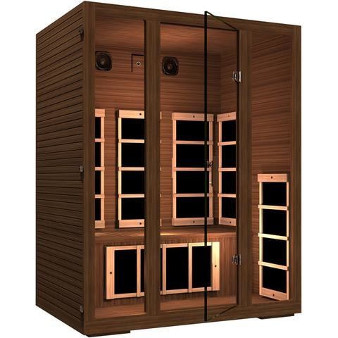JNH Lifestyles Freedom 3 Person Infrared Sauna - Bath Parlor