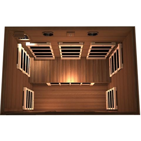Image of JNH Lifestyles Freedom 3 Person Infrared Sauna - Bath Parlor