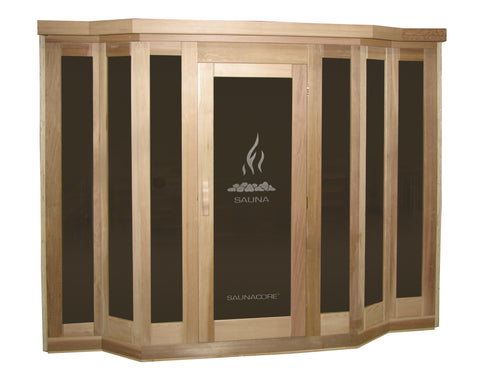 Saunacore VU-Classic Model 10 Person Traditional Sauna (V7X10)