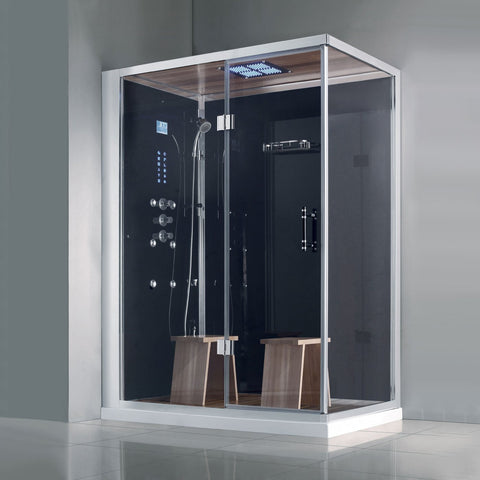 "Image of Athena WS-141 Steam Shower (59"" x 36"" x 89"")-Bath Parlor"