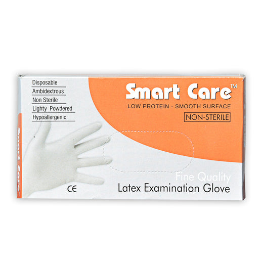 Smart Care Examination Gloves Powdered Large 50 Pcs