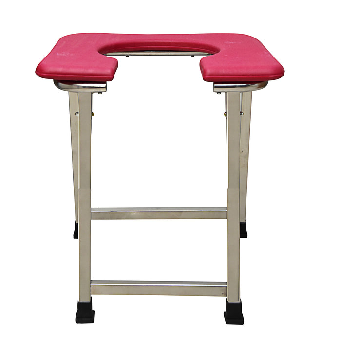 Smart Care Commode Stool Indian Style with SS Pipe