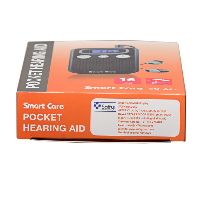 Smart Care Pocket Hearing Aid SC-A21